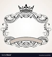 ornament border royalty free vector image vectorstock