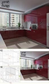 wholesale cheap price high gloss modern mdf lacquer kitchen