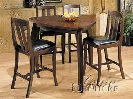 triangle counter height dining table piece miles counter height dining set with triangular table in