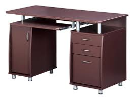 Computer Desk With Drawers Techni Mobili Complete Workstation Computer Desk With