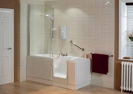 bathtub shower unit awesome walk in tub with shower surround venzi 47 x 27 right drain