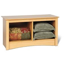 entry bench with storage decofurnish