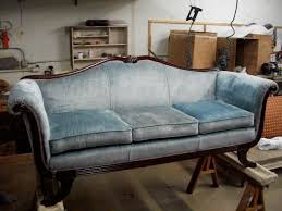 Horsehair Sofa Mangold U0026 Mangold Upholstery Inc Before U0026 After Gallery