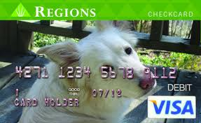 regions bank says customers can personalize checkcards al