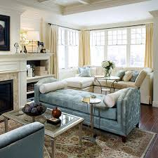 livingroom chaise blue living room with blue linen chaise lounge contemporary