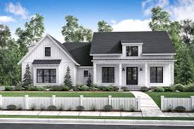the plan collection house plans front elevation of country home theplancollection house plan