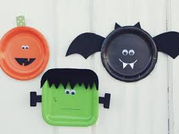 halloween paper plate crafts craftshady craftshady