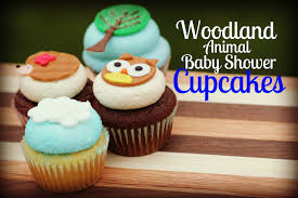 woodland animal baby shower cupcakes and new flavor reveal