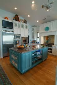 cuisine bleu turquoise cuisine mur bleu turquoise mobilier décoration
