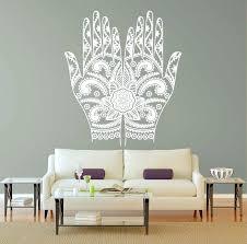 Wall Decals Vinyl Sticker Mandala by Wall Ideas Hamsa Wall Art Hamsa Metal Wall Art Jewish Hamsa