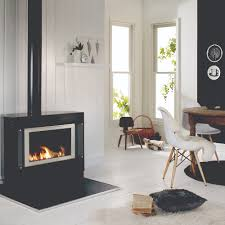 sapphire freestanding gas log fire rinnai australia