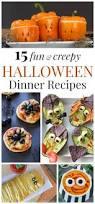 15 fun and creepy halloween dinner recipes