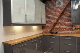 Exposed Brick Wall by Uncategories White Washed Exposed Brick Brick Backsplash How To