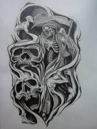 half sleeve skull designs half sleeve aztec skull
