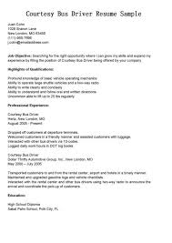 Bus Driver Resume Template Professional Bus Driver Templates To Showcase Your Talent