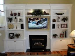 fireplace design ideas with side built in custom fireplace