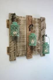 Shabby Chic Patio Decor by Pallet Wall Decor With Antique Turquoise By Pineknobsandcrickets