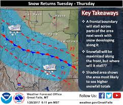 Montana Weather Map by Big Storm Expected To Hit Montana 1 2 Feet Of Snow Expect To