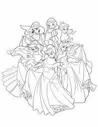 free coloring pages disney princesses awesome coloring free