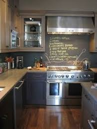 chalkboard kitchen backsplash chalkboard paint wall kitchen bar this really makes me want to