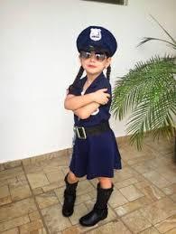 Kids Police Halloween Costume Pin Ashley Elizabeth Blue Thin Story U003c3