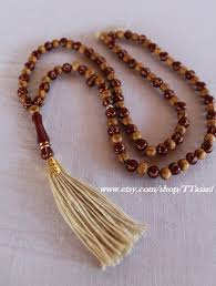 bead necklace with tassel images Tassel yoga necklace mala yoga tassel necklace bead necklace jpg