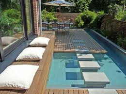 Small Pool Backyard Ideas by Modern Backyard Design Inspirations Also Small Pools For Images