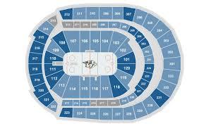 rogers center floor plan seating charts bridgestone arena