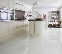 cream gloss kitchens ideas cream shiny floor tiles choice image tile flooring design ideas