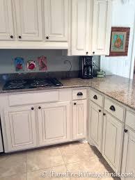 antique white farmhouse kitchen cabinets kitchen cabinet refacing on a budget farm fresh vintage finds