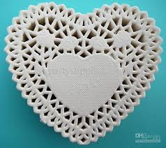 heart shaped doilies 2018 750 heart paper lace doilies come in pink and white