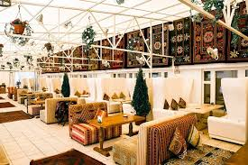 oriental design restaurant design in moscow with authentic oriental atmosphere