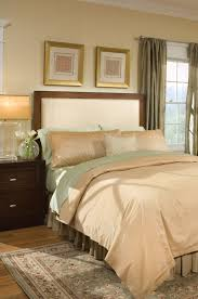 upholstered headboard with wood trim 52 nice decorating with wood