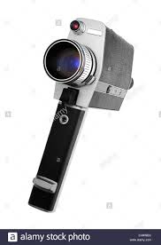 a vintage super 8 camera used for home movies stock photo royalty