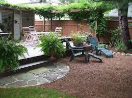 Backyards Ideas Patios 98 Best Mulch Patio Images On Pinterest Outdoor Ideas