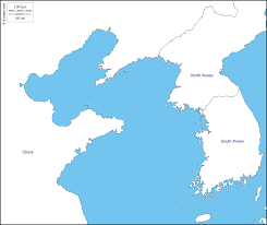China Sea Map by Yellow Sea Free Map Free Blank Map Free Outline Map Free Base