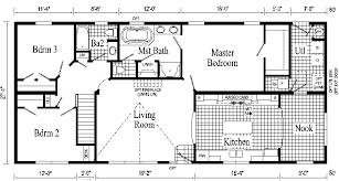 floor plans for ranch style home open floor small home plans oakland ranch style modular home