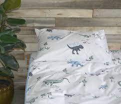 Single Bed Duvet Blue Jurassic Critters Single Bed Duvet Cover U0026 Pillowcase
