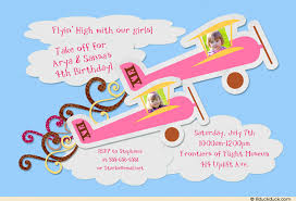 colors free printable airplane birthday invitation template with