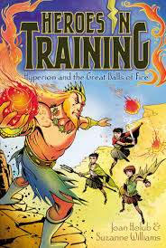 hyperion and the great balls of fire book by joan holub suzanne