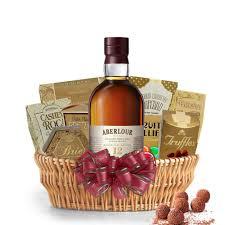 scotch gift basket buy aberlour 12 year cask matured scotch whisky gift