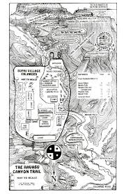 Original Route 66 Map by Hiking To Havasu Falls Map Best Route Getting To Grand Canyon