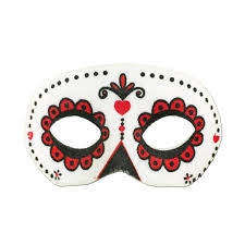 day of the dead masks shop for day of the dead masquerade masks at simply party supplies