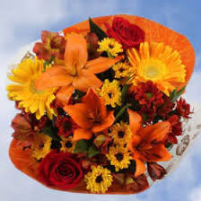 thanksgiving bouquet arrangements with alstroemerias gerberas roses bouquets global