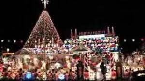 crazy christmas house in north babylon youtube