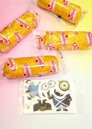 edible minions with a diy twinkies minions decoration kit brite and