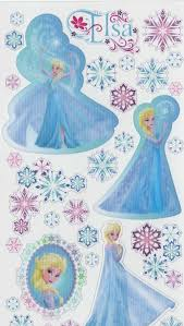 elsa stickers sticker creations contemporary wall disney frozen elsa snowflakes sticker crafter s toy box