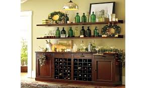 wine rack pottery barn wood wine rack kitchen buffet table bar