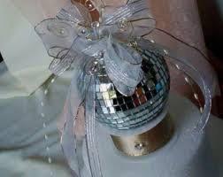 Black Silver New Years Eve Decorations by Disco Birthday Cake Topper Silver Black Gold Mirror Ball New