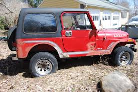 jeep cj laredo jeep price check 1986 cj7 jeep laredo 4x4 5 speed in ct